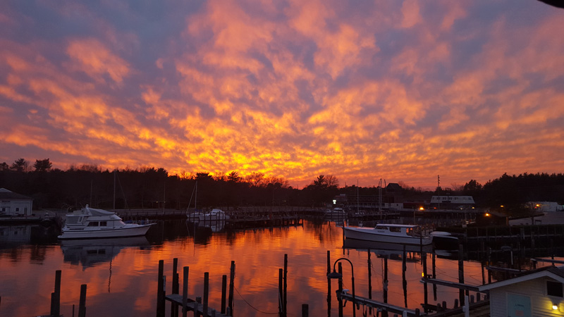 full service marina yachts  sale forked river nj silver cloud harbor marina